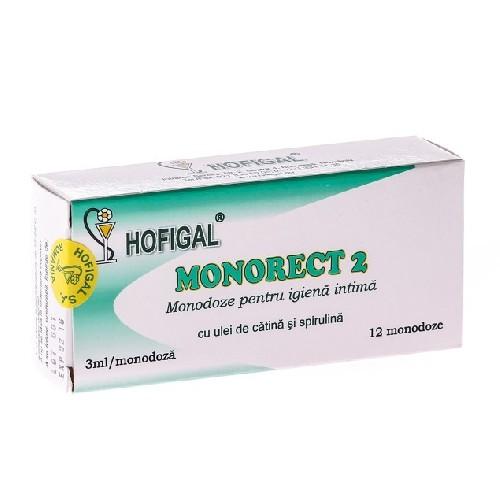 Monorect 2 Supozitoare 12monodoze Hofigal