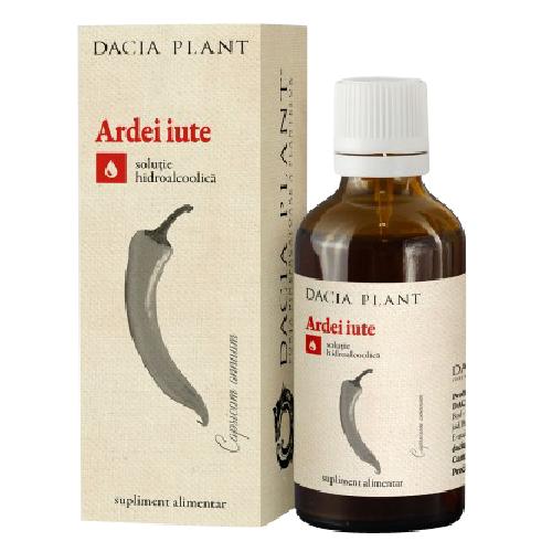 Tinctura Ardei Iute 50ml Dacia Plant