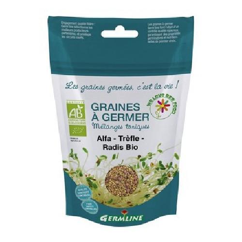 Mix Alfalfa, Trifoi, Ridiche pentru Germinat Bio 150gr Germline