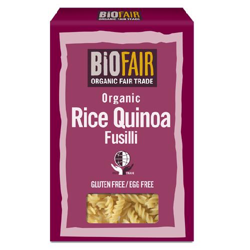 Fusilli din Orez si Quinoa Fara Gluten Bio 250gr Biofair