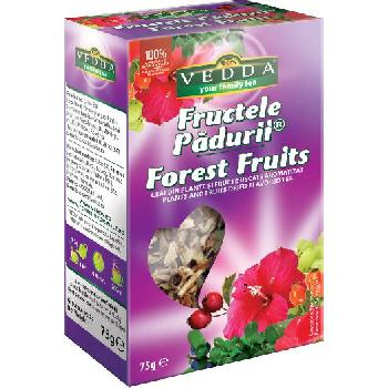 Ceai Fructe Padure 75gr Vedda