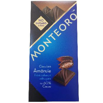 Ciocolata Sly Diet Amarui 60% Cacao 90gr