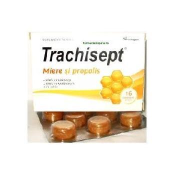 Trachisept Cu Miere Si Propolis 16 cpr