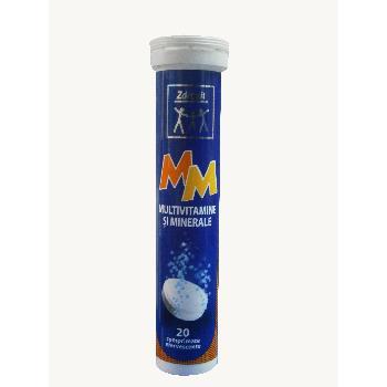 Multivita Si Minerale Efervescente Zdrovit 20 tab