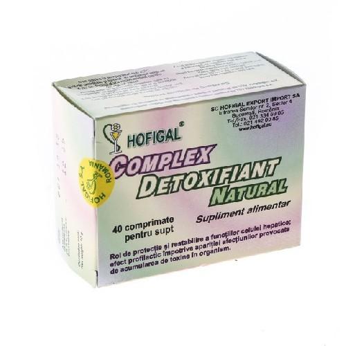 Complex Detoxifiant Natural 40cpr Hofigal