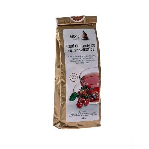 Ceai De Fructe Cu Visine Salbatice 50gr Alevia