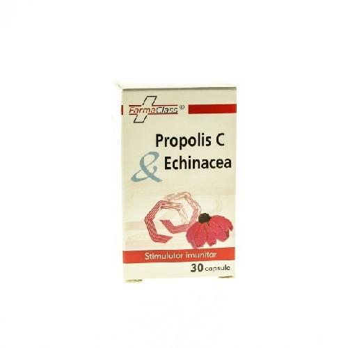 Propolis C & Echinaceea 30cps Farma Class