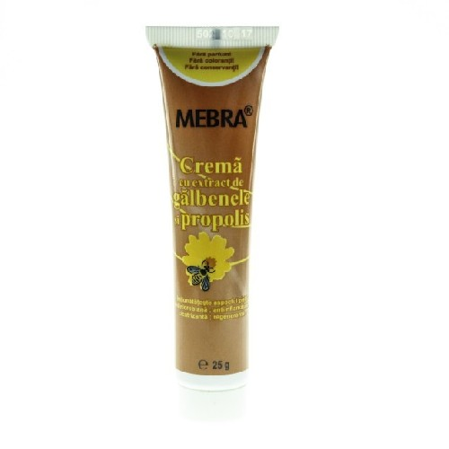 Crema Cu Galbenele + Propolis 25gr Mebra