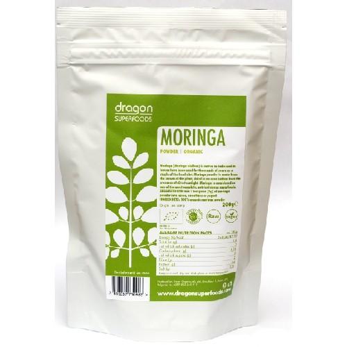 Moringa Pudra Bio 200gr Dragon Superfoods