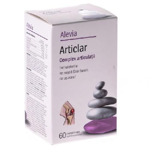 Articlar Complex Articulatii 60cpr Alevia