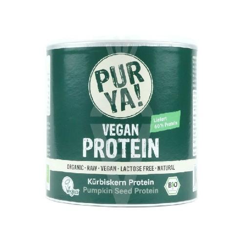 Vegan Protein din Seminte de Dovleac Raw Bio 250gr Purya