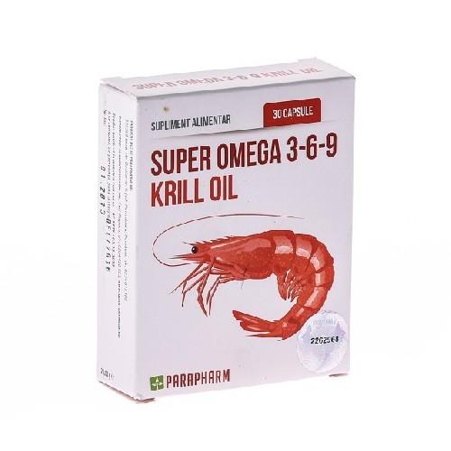 Super Omega 3-6-9 Krill Oil 30cps Parapharm