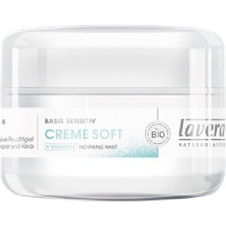 Crema Hidratanta Soft pentru Fata si Corp 150ml Lavera