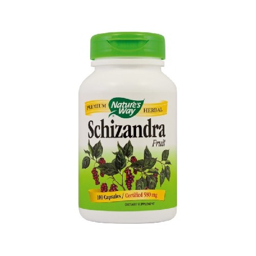Schizandra Fruit 580mg 100cps Secom