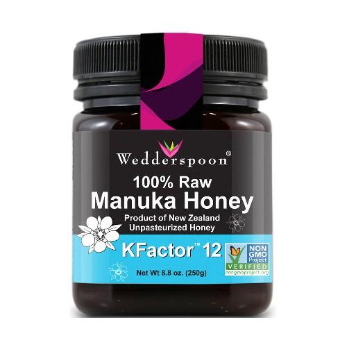 Miere de Manuka Activa KFactor 12 Raw 250gr Wedderspoon