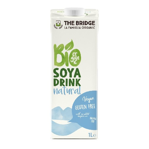 Lapte Bio de Soia Natural 1l The Bridge