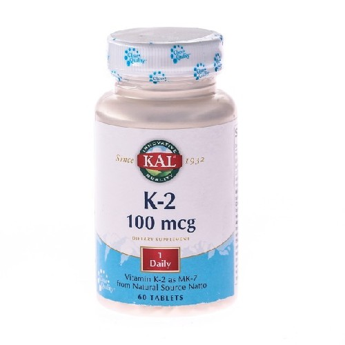 Vitamina K-2 100mcg 60cpr Secom