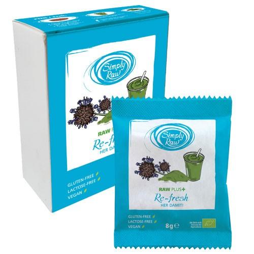 Pudra Raw Plus Refresh Bio 40gr 5pliculete Simply Raw