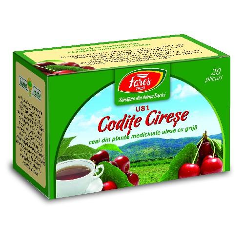 Ceai de Codite de Cirese 20plicuri Fares