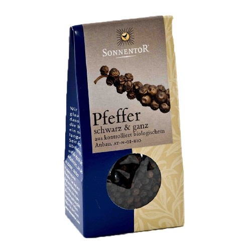 Piper Negru Boabe Eco 35gr Sonnentor