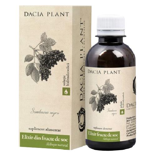 Elixir din Fructe de Soc pentru Slabit 200ml Dacia Plant