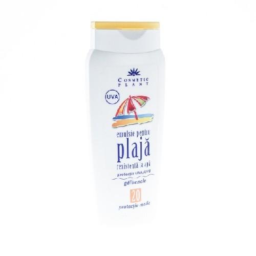Emulsie Plaja Spf20 Rezistenta La Apa 250ml Cosmetic Plant