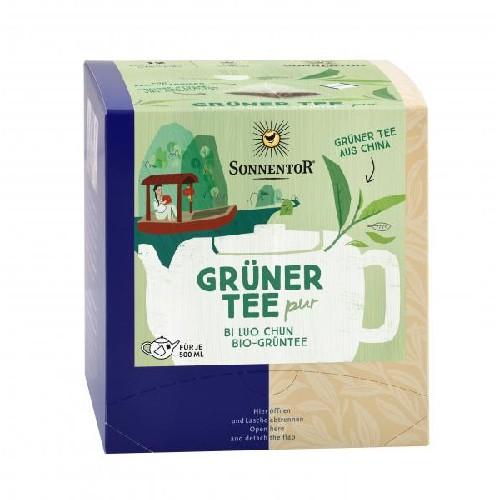 Ceai Premium -Verde Pur - Eco 12filtre piramidale Sonnentor