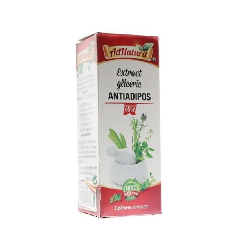Extract Gliceric Antiadipos 50ml AdNatura
