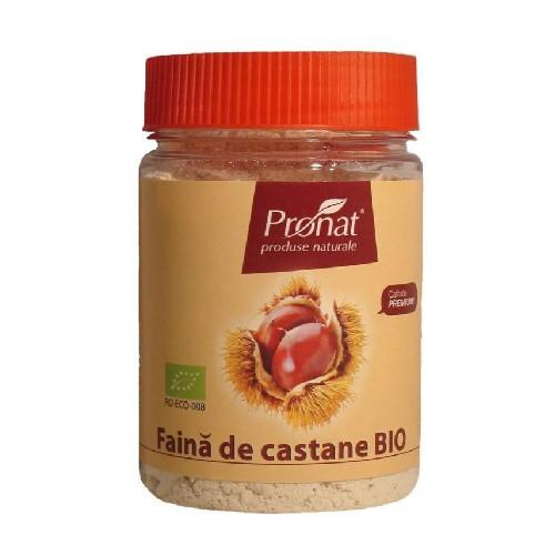Faina de Castane Bio 100gr Pronat
