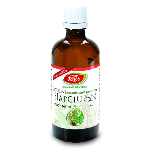 Hapciu - Frectie Raceala Si Gripa 100ml Fares