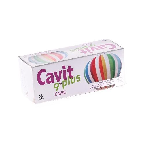 Cavit 9 Plus Caise 20tablete Biofarm