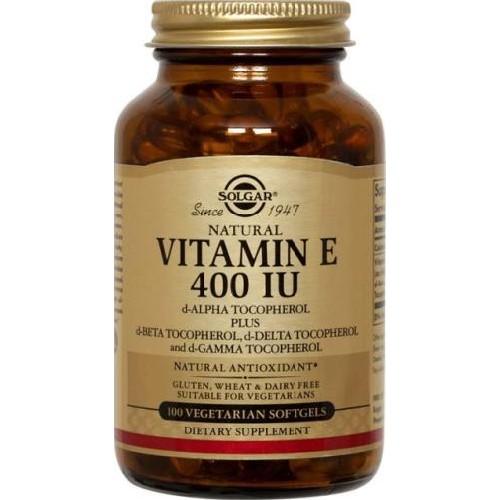 Vitamina E Naturala 400UI 50cps Solgar