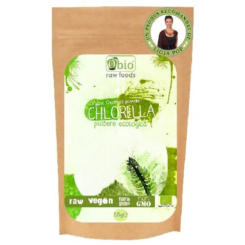 Chlorella Pulbere Bio 125gr Obio