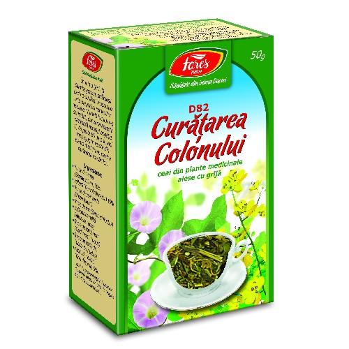 Ceai Curatarea Colonului 50gr Fares