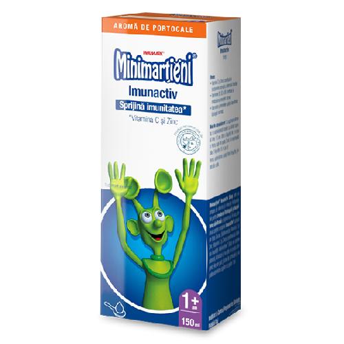 Sirop Minimartieni cu aroma de Portocale 150ml Walmark