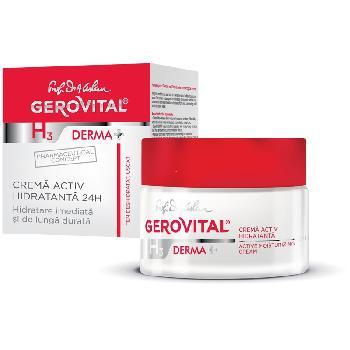 Crema Activ Hidratanta 24h 50ml Gerovital