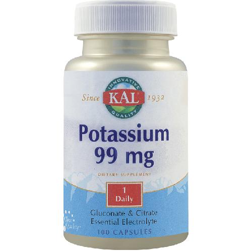 Potassium 99mg 100cps Secom