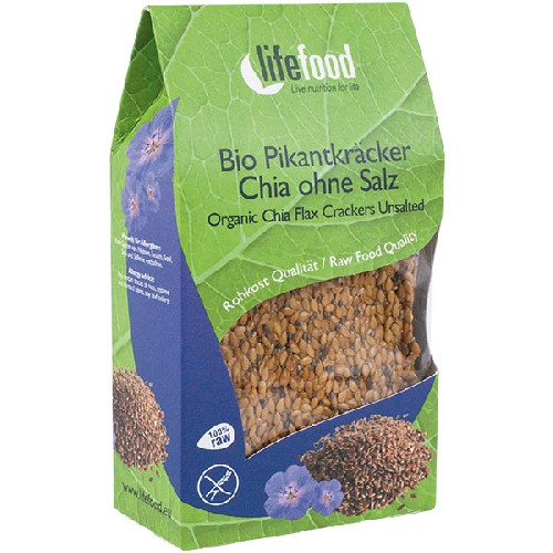 Crackers Cu Chia Raw Bio 90gr Lifefood