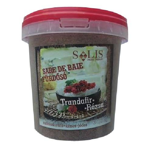 Sare de Baie Sulf 1.5kg Trandafir Salislag