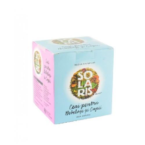 Ceai Pentru Bebelusi si Copii 20dz Solaris