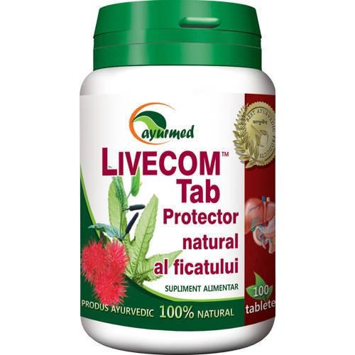 Livecom 100tab Ayurmed