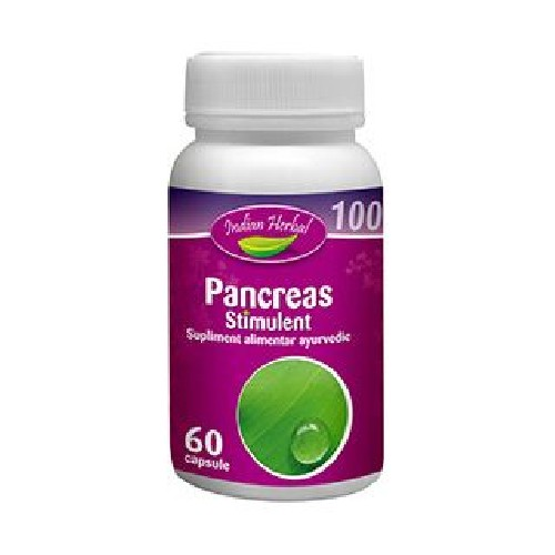 Pancreas Stimulent 60cps Indian Herbal