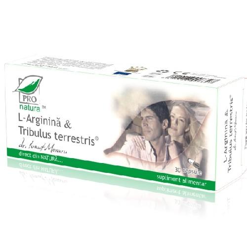 L-Arginina + Tribulus 30cps Pro Natura