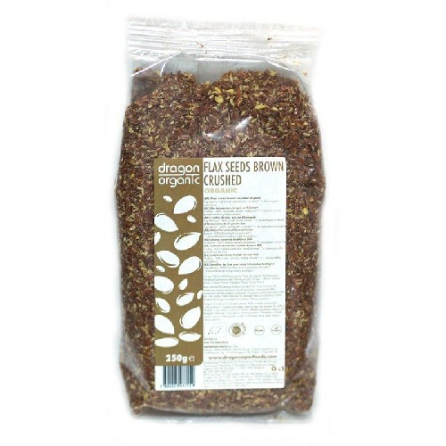 Seminte de In Pisate Bio 200gr Dragon Superfoods