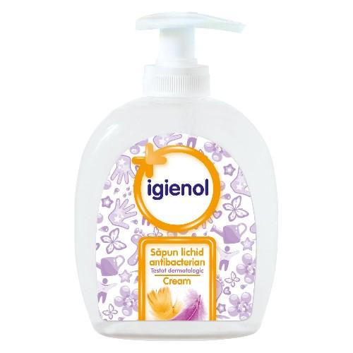 Igienol Sapun Lichid Antibacterian Cream 300ml