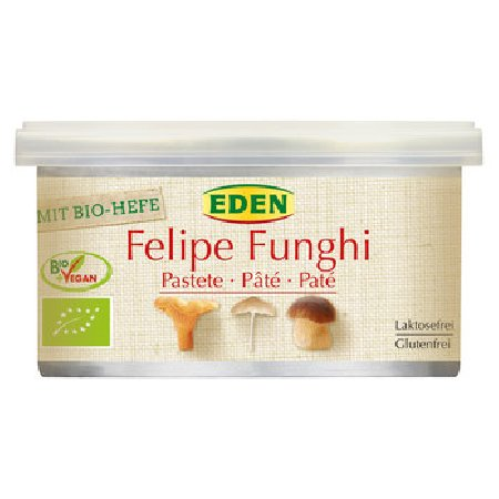 Pate Vegetal Cu Ciupercieco-vegan 125gr Eden