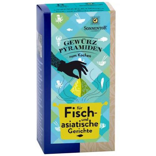 Condiment Piramida - Peste Si Retete Asiatice12pl