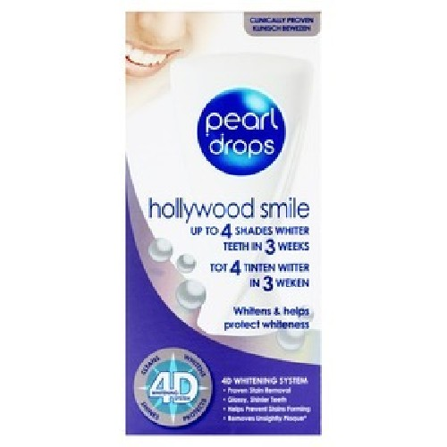 Pearl Drops Gel pentru Albirea Dintilor 50ml Hollywood Smile