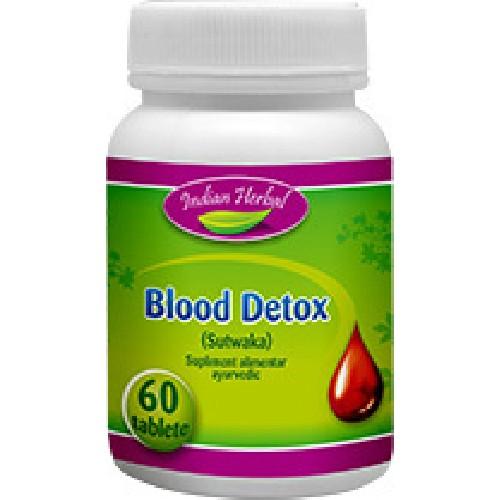 Blood Detox 120cpr Indian Herbal
