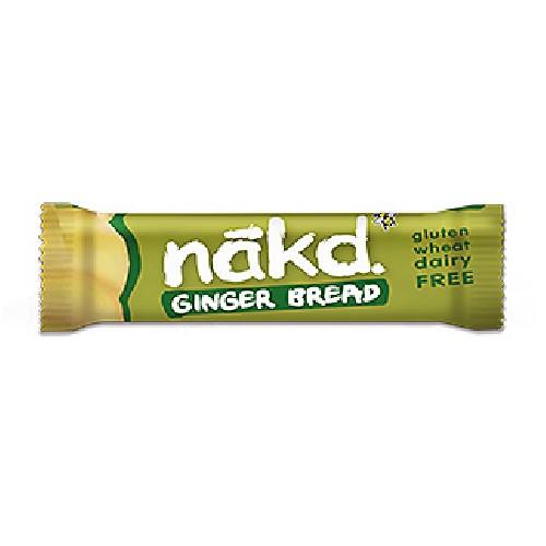 Baton Nakd Raw-Vegan Turta Dulce cu Ghimbir (Fara Gluten) 35g